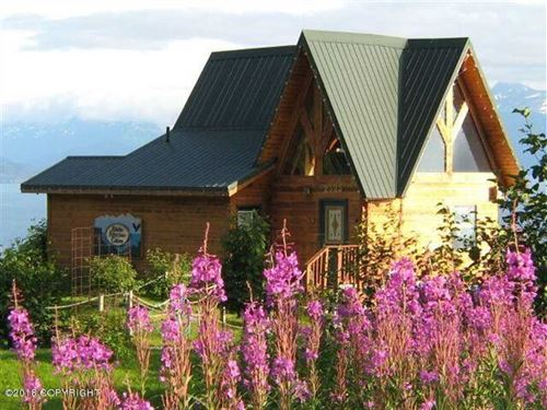3 Lodge Cabins on 2 Lots Have Been : Homer : Kenai Peninsula Borough : Alaska