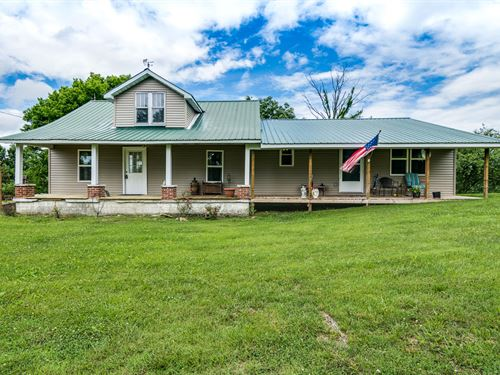 .50 Acre, Home, All Newly Remodeled : Moss : Clay County : Tennessee