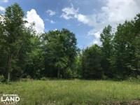 Recreational Land And Homesite : McCormick : Edgefield County : South Carolina