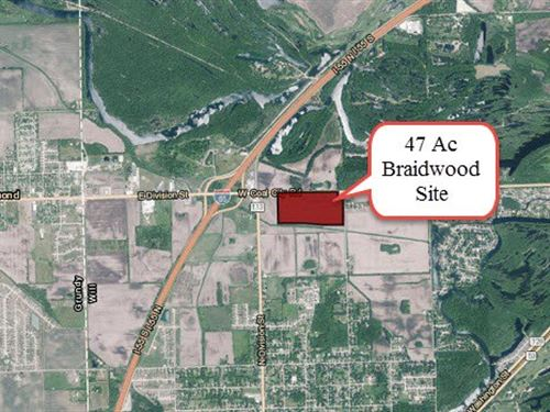 47 Acre Braidwood Development Site : Braidwood : Will County : Illinois
