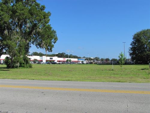 Reduced Prime Commercial Lot : Chiefland : Levy County : Florida