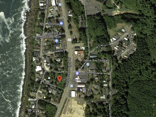 .21 Acres In Depoe Bay, OR : Depoe Bay : Lincoln County : Oregon