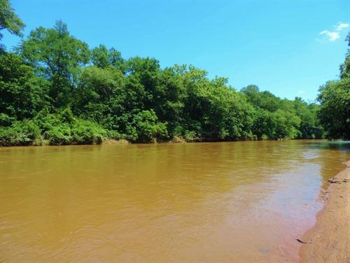 3,800 Ft, Of Broad River Frontage : Lexington : Oglethorpe County : Georgia