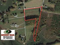 Reduced, 4.8 Acres of Water View : Susan : Mathews County : Virginia