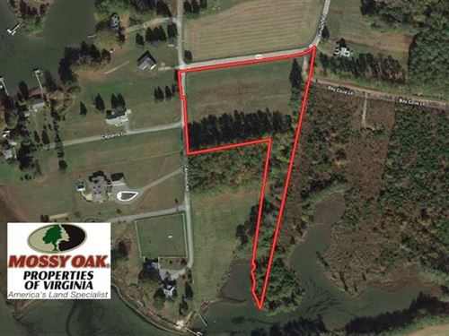 4.8 Acres of Water View Residentia : Susan : Mathews County : Virginia