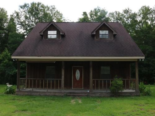 32 Acres With Home In Marion County : Columbia : Marion County : Mississippi