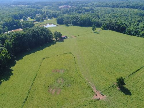 Pasture, Pond, Hwy Frontage : Anderson : South Carolina