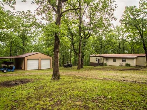 Home on 3.5 Acres For Sale in Wapp : Wappapello : Wayne County : Missouri