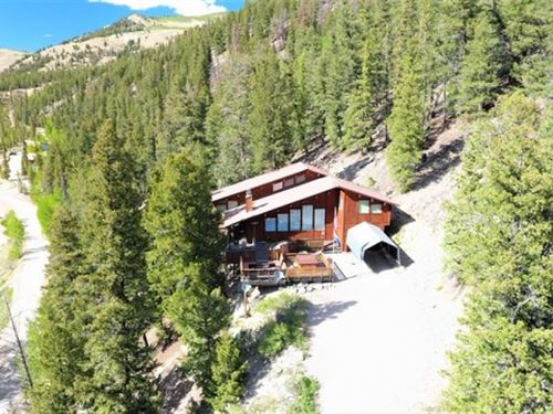 Home With Stunning Lake Views : Lake City : Hinsdale County : Colorado