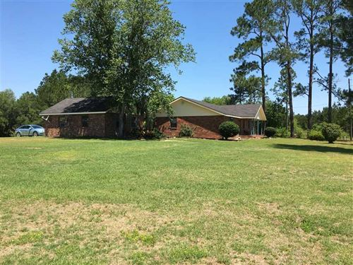 Brick House on 12 Acres With Great : Hazlehurst : Jeff Davis County : Georgia