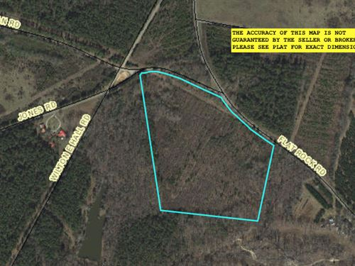 Wooded Acreage : Starr : Anderson County : South Carolina