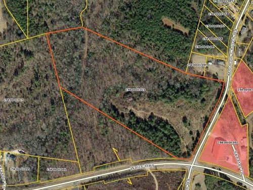 Wood Acreage With Hwy Frontage : Seneca : Oconee County : South Carolina