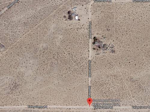 San Bernardino County, Ca $80,000 : Newberry Springs : San Bernardino County : California