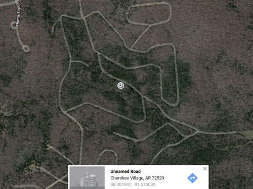 .16 Acres In Cherokee Village, AR : Cherokee Village : Fulton County : Arkansas