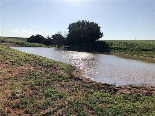 Blaine Count Land With 3 Ponds : Hydro : Blaine County : Oklahoma