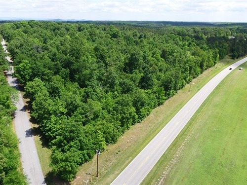 Wooded, Hwy Frontage : Liberty : Anderson County : South Carolina