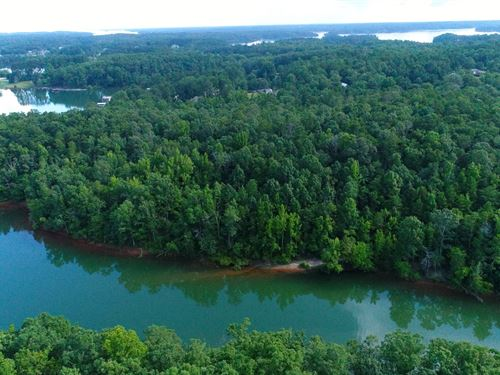 Lake Hartwell Frontage : Townville : Anderson County : South Carolina