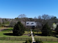 Horses, Pasture, House : Anderson : Anderson County : South Carolina
