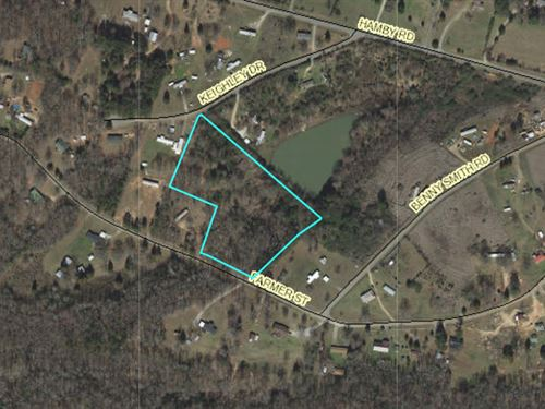 Wooded Tract : Starr : Anderson County : South Carolina