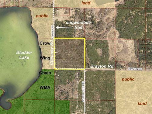 Hubbard, Cw Lake, 1393313, Swsw : Nevis : Hubbard County : Minnesota