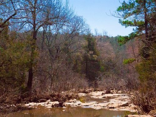 Beautiful Stream Property 134 : Wilburton : Latimer County : Oklahoma