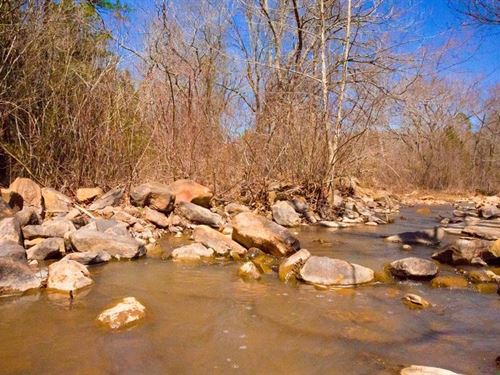 Beautiful Stream Property 135 : Wilburton : Latimer County : Oklahoma