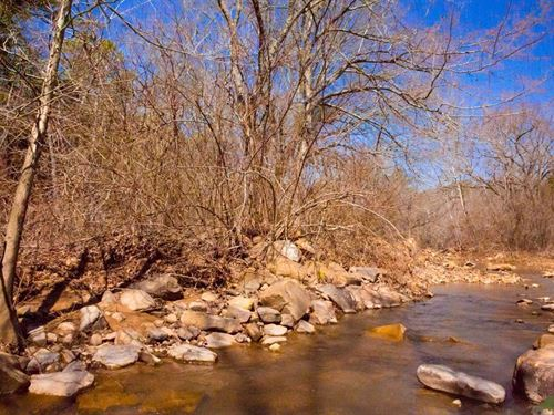 Beautiful Stream Property 137 : Wilburton : Latimer County : Oklahoma