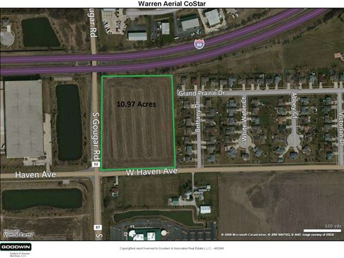 11 Acre New Lenox Commercial : New Lenox : Will County : Illinois