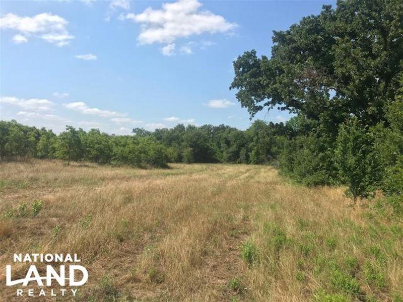Oak Spring Ranch Rolling Timber Land For Sale Eustace Van