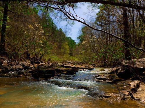 Beautiful Stream Property 196 : Wilburton : Latimer County : Oklahoma