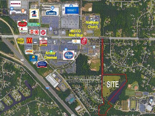 Multi-Family Development Site : Macon : Bibb County : Georgia