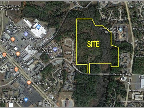 Tax Credit Apartment Site : Perry : Houston County : Georgia