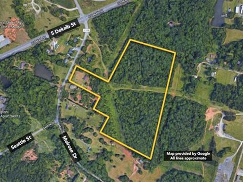 2 Parcels - Parcel 27836 Which : Shelby : Cleveland County : North Carolina