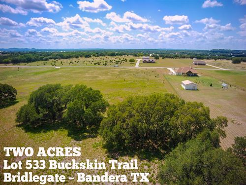 2.1 Acres In Bandera County : Bandera : Texas