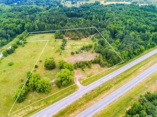8 Acre Tract Of Land : Monroe : Walton County : Georgia