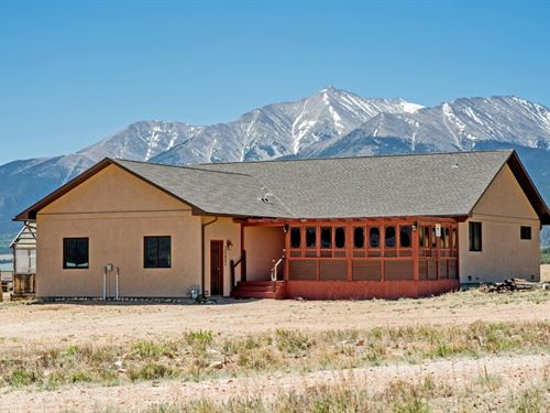 6447830 - Very Well Kept Home On 10 : Buena : Chaffee County : Colorado