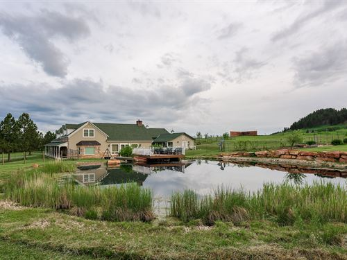 Stone House Lodge : Whitewood : Lawrence County : South Dakota