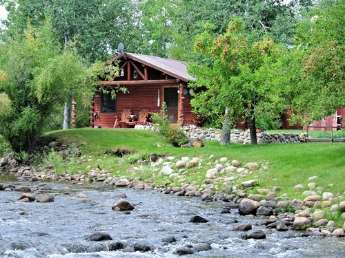 Sinks Canyon Retreat : Lander : Fremont County : Wyoming
