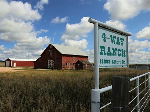 4 Way Ranch : Peyton : El Paso County : Colorado