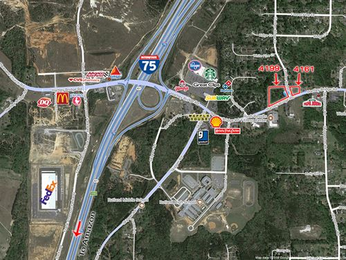 1 Acre Commercial Lot : Macon : Bibb County : Georgia