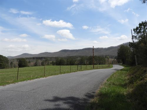 Evans Green Road : Summerville : Chattooga County : Georgia