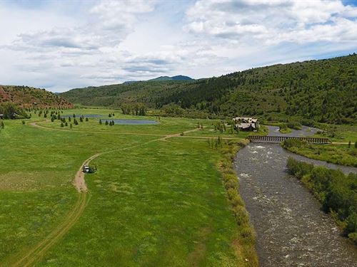 Upper Buckles At Elk Creek Ranch : Meeker : Rio Blanco County : Colorado