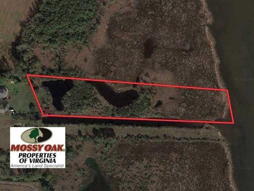 4 Acres of Waterfront Duck Hunting : Virginia Beach : Virginia