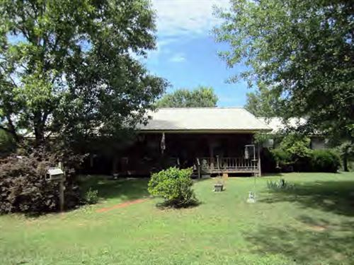 Home & 33.5 Acres For Sale Libe : Liberty : Amite County : Mississippi
