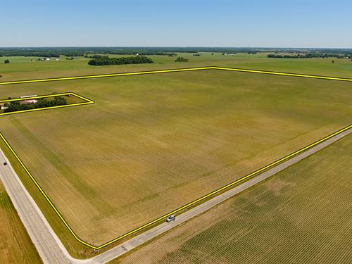 Land Auction In Grant Co, Indiana : Upland : Grant County : Indiana