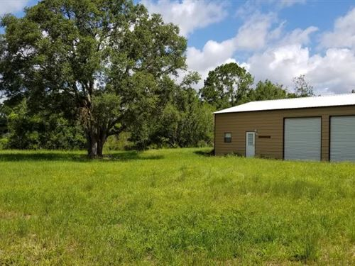Pinewood Preserve Country Homesite : Arcadia : Desoto County : Florida