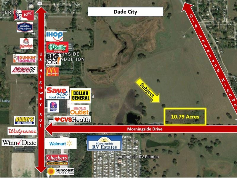 Industrial Site : Dade City : Pasco County : Florida