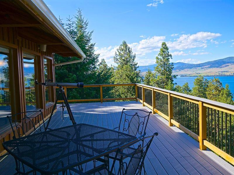 The Lodge Of Big Arm : Big Arm : Lake County : Montana