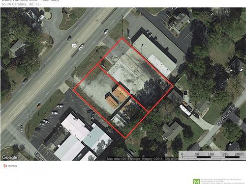 Commercial Lot, Wade Hampton Blvd : Taylors : Greenville County : South Carolina