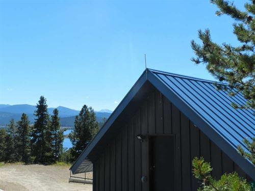 Georgetown Lake, Scandinavian-Inspi : Anaconda : Granite County : Montana